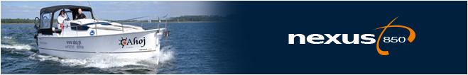 Моторная яхта Nexus 850