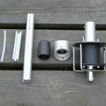 компоненты закрутки стакселя mast 25