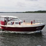 моторная яхта Courier 970 | Nexus 980