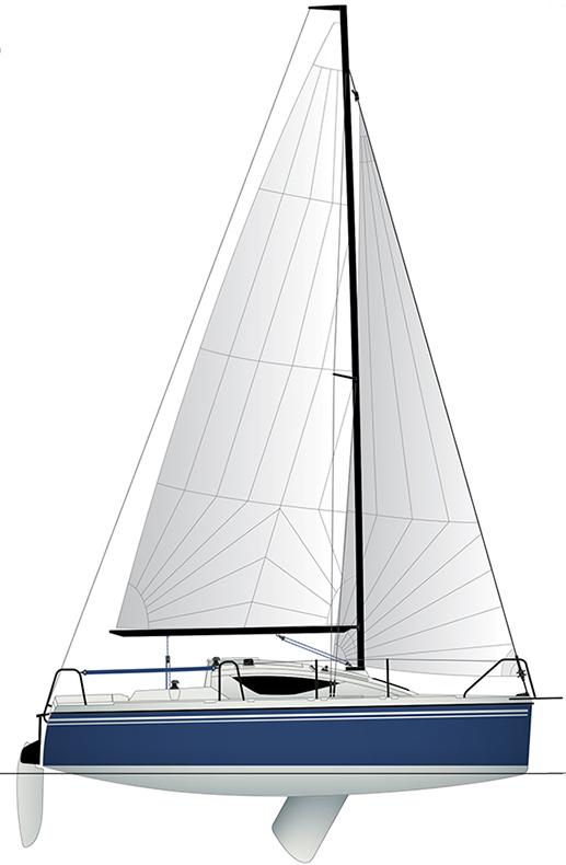 яхта Maxus 22 / виды