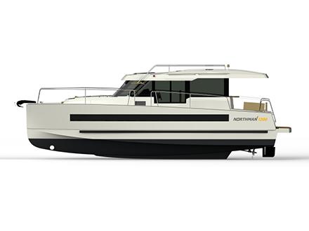яхта Northman 1200 / виды