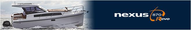 Моторная яхта Nexus 870 Revo