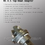 Universal NS4.5 Top-Down adapter for asymmetrical furlers data