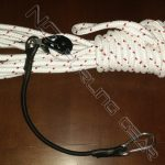 sail furler continuous control line with bungee block