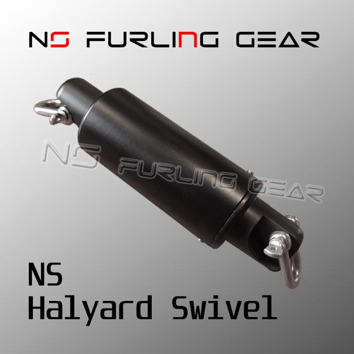 Halyard swivel for 6mm stay