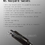 ns halyard swivel specification