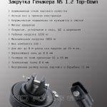 закрутка генакера ns1.2 top-down спецификация